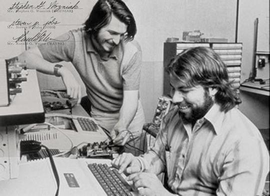 アップルコンピュータ・カンパニー(AppleComputerCompany)を創業
