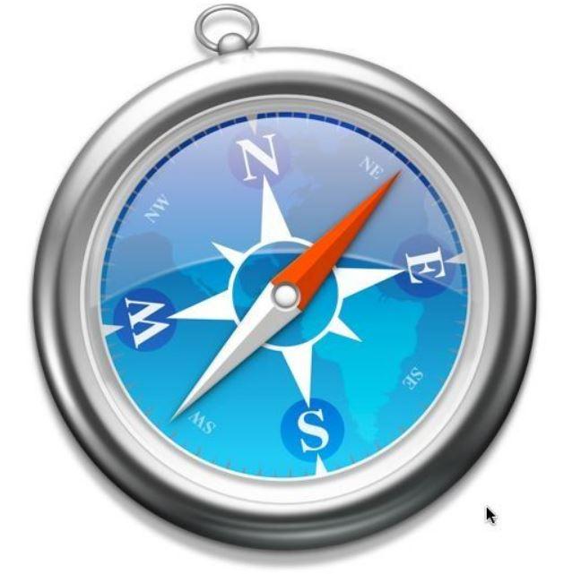 "<spanid=""safari""></span>Mac用Webブラウザsafariを発表"