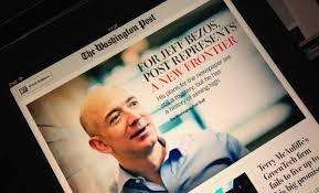 2013年8月 ベゾスはワシントン・ポストを2億5000万ドルで買収