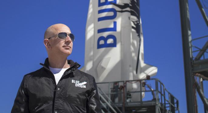 航空宇宙企業「ブルーオリジン」を設立
