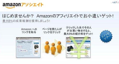 5月Amazonアソシエイト・プログラムサービスをスタート。