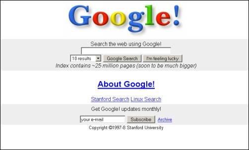 初期のグーグルに投資