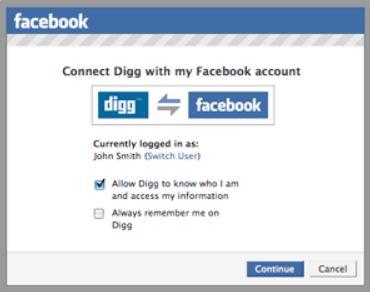 FacebookConnect提供開始