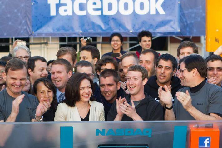 Facebookは、NASDAQ市場にてIPO