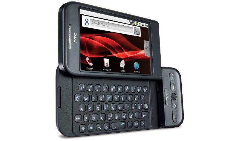 初のAndroid搭載スマートフォンを発表