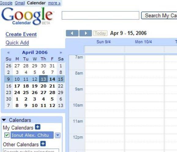 2006年Googleカレンダー提供開始