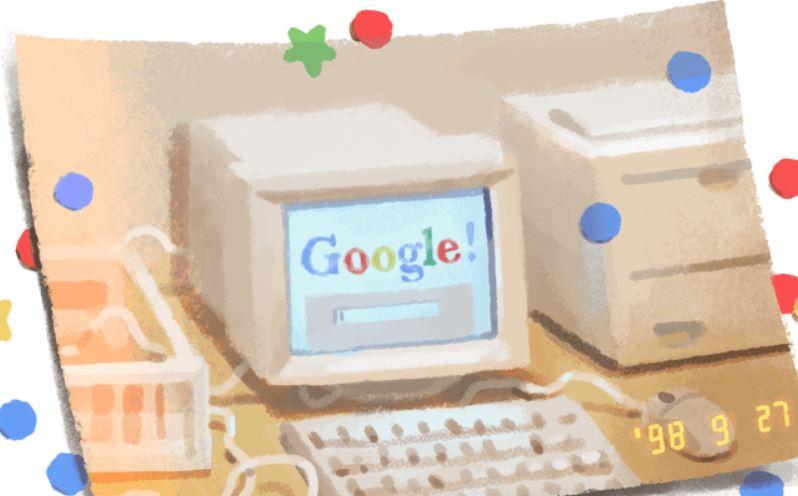 Google創立記念日9月27日とする