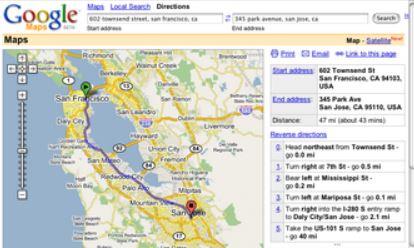 GoogleMapsをベータ版としてサービス開始
