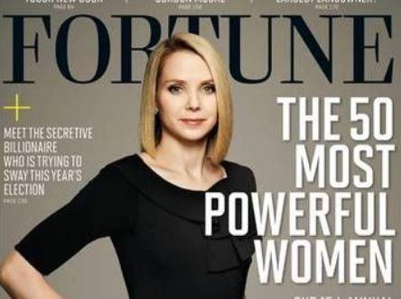 マリッサ・アン・メイヤー(MarissaAnnMayer)が「50MostPowerfulWomen」で第50位に選ばれる