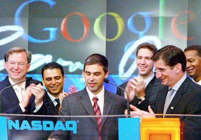 NASDAQでGoogleの株式公開(IPO)