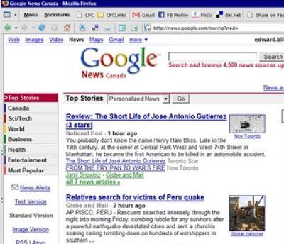 GoogleNewsをベータ版として開始