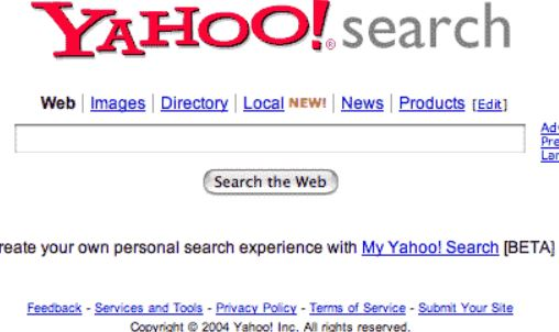 Yahoo!とGoogleが和解