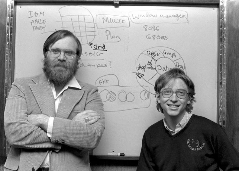 ビル・ゲイツとポール・アレンとトラフォデータが出会う