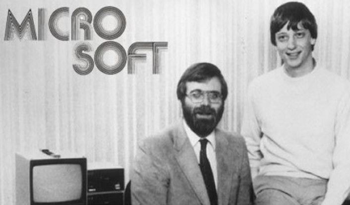 マイクロソフト設立