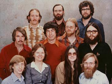 初期のマイクロソフトの社員