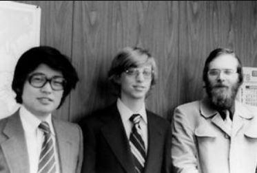 ビル・ゲイツと西和彦が会う