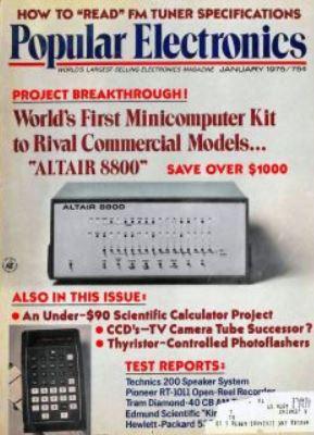 popular electronics mits altair8800