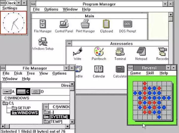 ウィンドウズ3.0発表と、OS/2の衰退