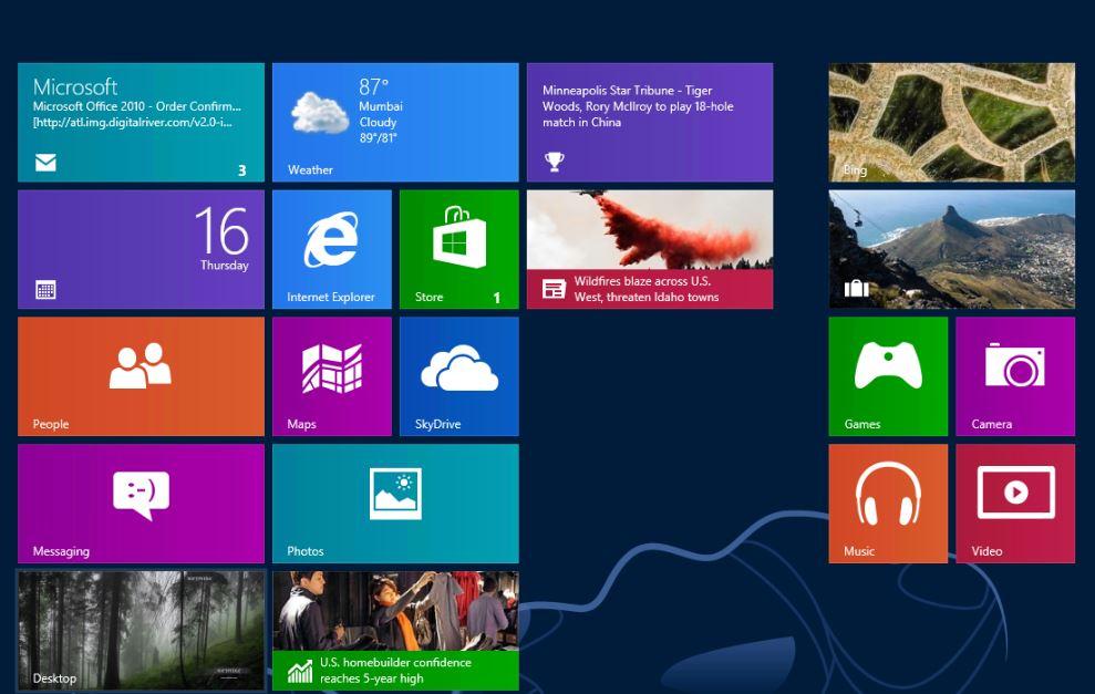Windows8を一般向けに世界同時発売