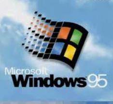"<spanid=""windows95""></span>WindowsとMS-DOSを一体化し、GUIを改良したWindows95を発売"