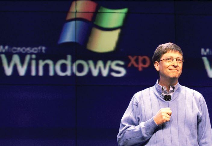 WindowsXP発売
