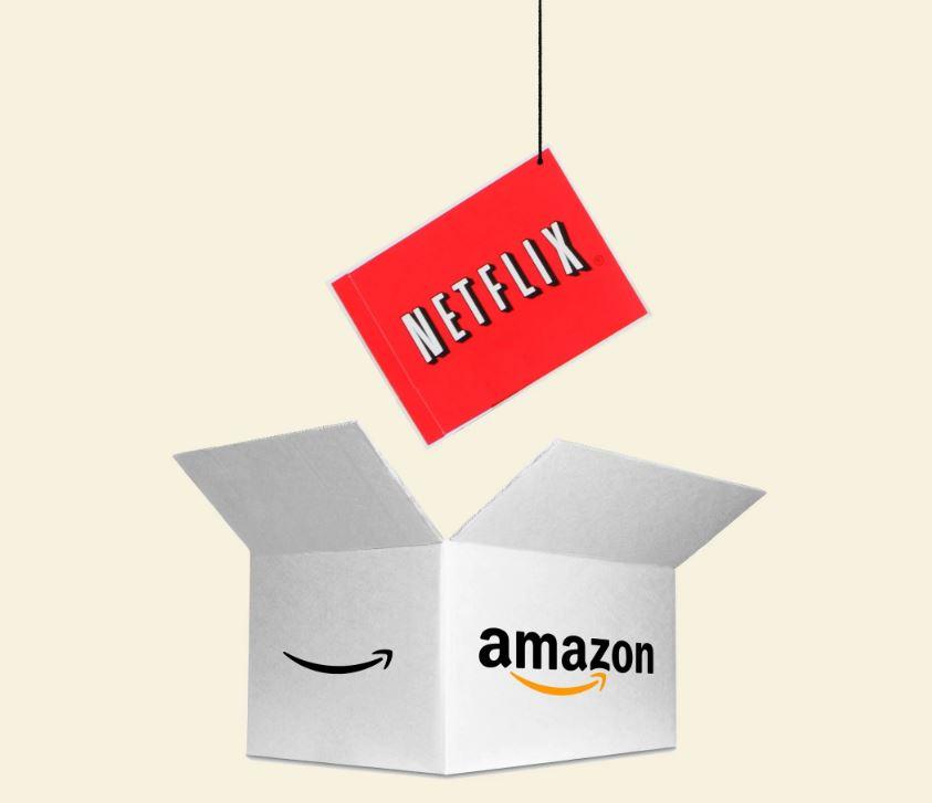Netflixをアマゾンへの事業売却を検討