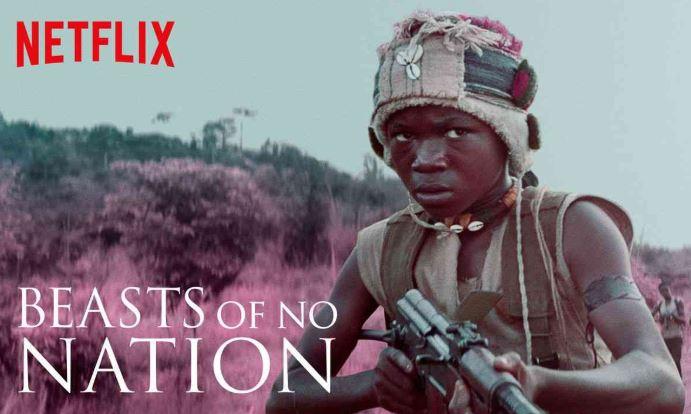 Netflixオリジナル作品として初のドラマ映画『ビースト・オブ・ノー・ネーション』では、出演俳優が数々の賞を受賞
