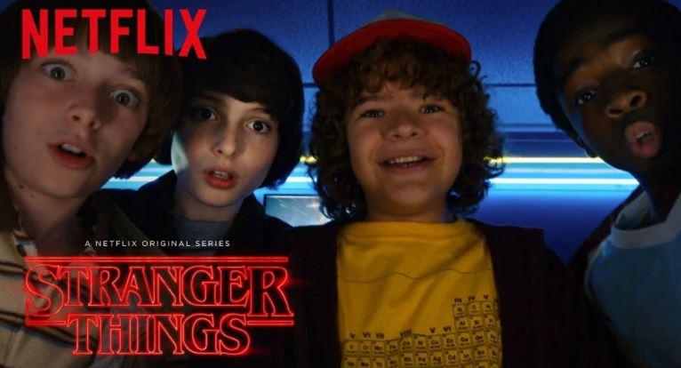 Netflixオリジナル作品「ストレンジャー・シングス未知の世界」が全世界数々の賞を受賞